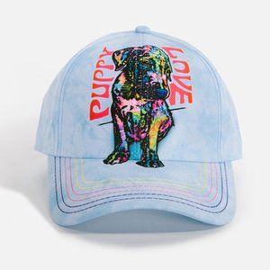 Puppy Love Baseball Dog Cap